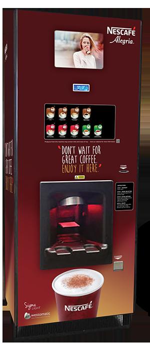 Westomatic Sigma Light Coffee Vending Machine