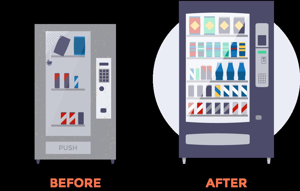 Upgrade your vending machine